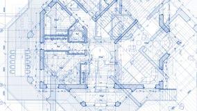 Progettazione di architettura: piano del modello video d archivio