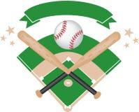 Progettazione di baseball Fotografia Stock