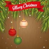 Progettazione di Buon Natale Immagini Stock Libere da Diritti