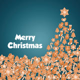 Progettazione di Buon Natale Fotografia Stock Libera da Diritti