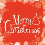 Progettazione di Buon Natale Fotografia Stock