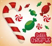 Progettazione di Buon Natale Fotografie Stock