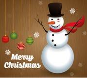 Progettazione di Buon Natale Fotografie Stock Libere da Diritti