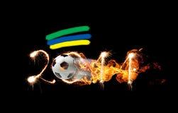 Progettazione di calcio Immagini Stock