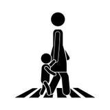 Progettazione di camminata della gente Fotografie Stock Libere da Diritti