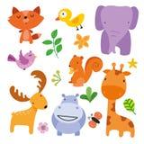Progettazione di carattere degli animali royalty illustrazione gratis