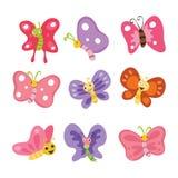 Progettazione di carattere della farfalla royalty illustrazione gratis