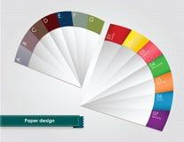 Progettazione di carta Fotografie Stock