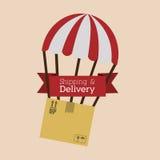 Progettazione di consegna illustrazione vettoriale
