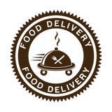Progettazione di consegna dell'alimento Fotografia Stock Libera da Diritti