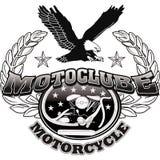 Progettazione di corsa del motociclista del motociclo Fotografie Stock Libere da Diritti