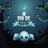 Progettazione di Dia de Los Muertos Fotografia Stock Libera da Diritti