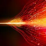 Progettazione di energia contro fondo scuro ENV 10 Immagini Stock