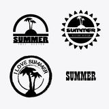 Progettazione di estate Fotografia Stock