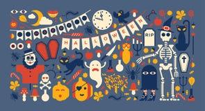 Progettazione di Halloween Immagini Stock Libere da Diritti