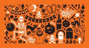 Progettazione di Halloween Fotografia Stock Libera da Diritti