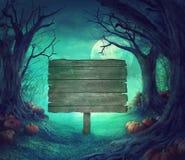 Progettazione di Halloween Immagine Stock