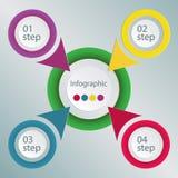 Progettazione di Infographic Immagine Stock