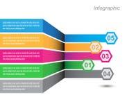 Progettazione di Infographic per il posto del prodotto Fotografia Stock Libera da Diritti