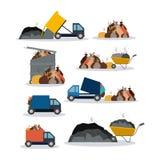 Progettazione di inquinamento, illustrazione di vettore illustrazione vettoriale