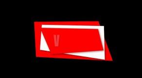 Progettazione di introduzione di media dei video illustrazione vettoriale