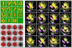 Progettazione di iscrizione di alfabeto di ABC Fotografia Stock Libera da Diritti