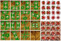 Progettazione di iscrizione di alfabeto di ABC Fotografia Stock