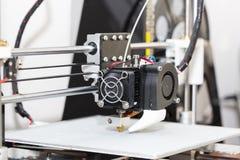 progettazione di lavoro di yelement del meccanismo della stampante 3d Immagine Stock
