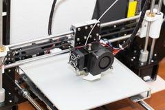 progettazione di lavoro di yelement del meccanismo della stampante 3d Immagini Stock