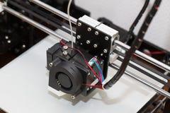 progettazione di lavoro di yelement del meccanismo della stampante 3d Fotografie Stock Libere da Diritti