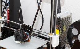 progettazione di lavoro di yelement del meccanismo della stampante 3d Fotografia Stock