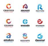 Progettazione di lettere creativa lucida Immagine Stock Libera da Diritti