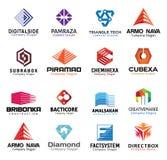 Progettazione di lettere creativa lucida Fotografie Stock