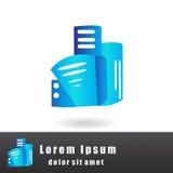 Progettazione di logo Fotografia Stock Libera da Diritti