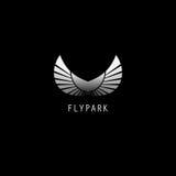 Progettazione di logo del campione Fotografie Stock