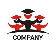 Progettazione 2 di logo dello studente fotografie stock