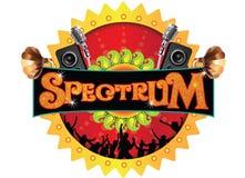 Progettazione di logo di evento Fotografie Stock