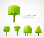 Progettazione di massima astratta dell'albero Fotografie Stock Libere da Diritti
