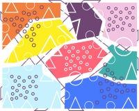 Progettazione di Minimalistic, concetto creativo, elemento geometrico del fondo astratto diagonale moderno illustrazione vettoriale