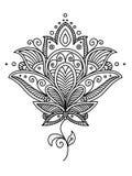 Progettazione di Paisley del persiano royalty illustrazione gratis