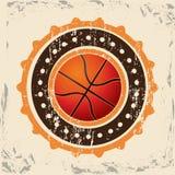 Progettazione di pallacanestro Fotografie Stock Libere da Diritti