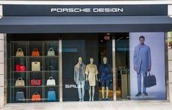Progettazione di Porsche Immagine Stock