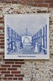 Progettazione di schizzo di Benjamin Franklin da Filadelfia in Pensilvania U.S.A. Immagine Stock