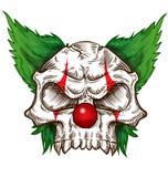Progettazione di schizzo del cranio illustrazione di stock