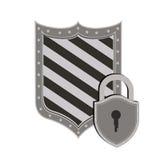 Progettazione di sicurezza Immagine Stock