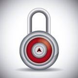 Progettazione di sicurezza Fotografie Stock
