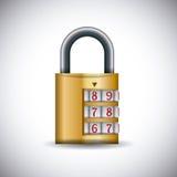 Progettazione di sicurezza Immagini Stock