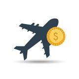 progettazione di spese di viaggio Fotografie Stock Libere da Diritti