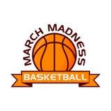 Progettazione di sport di pallacanestro di follia di marzo royalty illustrazione gratis