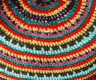 Progettazione di tessuto tricottato. Fotografia Stock